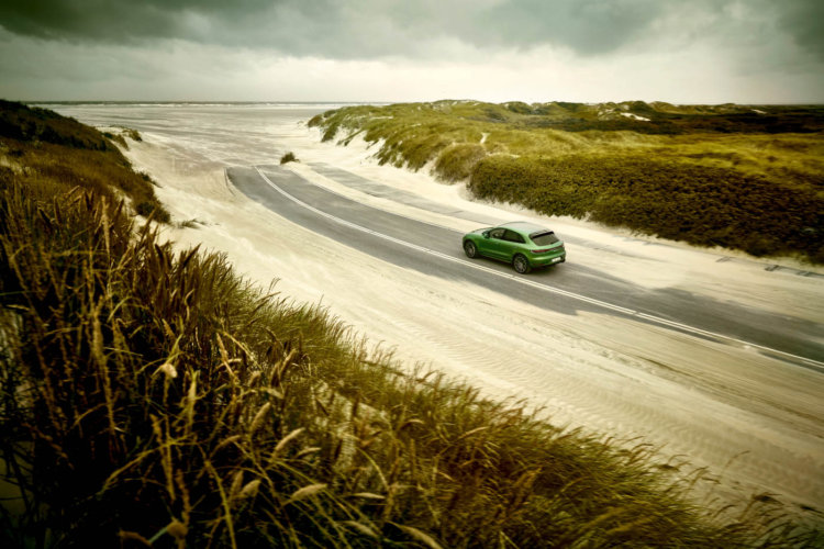 Markus Wendler: Porsche Macan Turbo - Photographer Markus Wendler was commissioned to shoot the new Porsche Macan Turbo. He shot on location at the German isle…