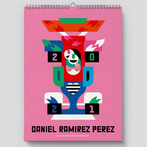 Daniel Ramirez Perez: 2021 Calendar - Illustrator Daniel Ramirez Perez has launched his 2021 calendar. His annual release is always full of bright colors and new…