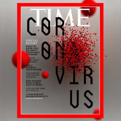 Sean Freeman: Coronavirus - Lettering and illustration specialists Sean Freeman and Eve Steben were commissioned by Time Magazine to design the cover of their…
