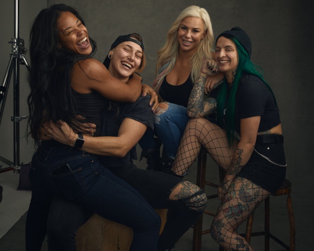 Sophy Holland: WWE Natural Beauty - Photographer Sophy Holland was commissioned by WWE to shoot their female superstars in honor of Women's History Month. For this…
