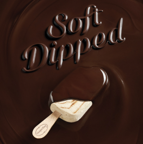 Kelsey McClellan: Haagen Dazs - Photographer Kelsey McClellan was commissioned by Haagen Dazs to create the campaign for their new Soft Dipped ice cream bars,…