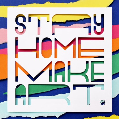 Owen Gildersleeve: Stay Home, Make Art - Paper crafting illustrator Owen Gildersleeve has created a new personal project called Stay Home Make Art that is downloadable for…