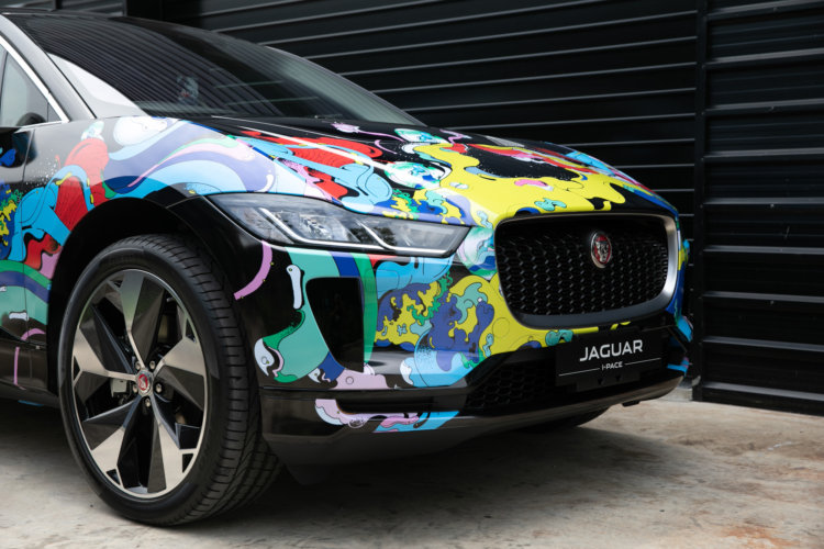 Pomme Chan: Jaguar - Illustrator Pomme Chan was invited to customize a Jaguar I-PACE vehicle, Jaguar's first all electric performance SUV. For the art,…