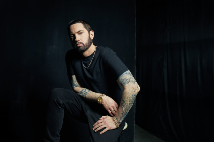 Danny Clinch: Eminem Deluxe Album - Danny Clinch was commissioned by rapper Eminem's management to photograph the artist for his album Music to be Murdered by…