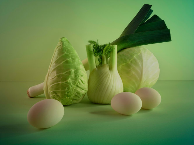 James Day: Vegetables - Photographer James Day's latest self initiated series displays a healthy dose of greens. The new still lifes are color studies…