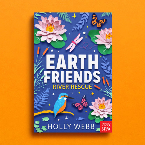 Owen Gildersleeve: Earth Friends by Holly Webb - Paper cutting illustrator Owen Gildersleeve was commissioned by Nosy Crow to create a new set of covers for best selling…