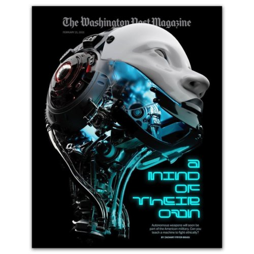 Sean Freeman: Washington Post Magazine, A Mind of Their Own - Sean Freeman and his creative partner Eve Steben were commissioned by the Washington Post Magazine to create the cover art…