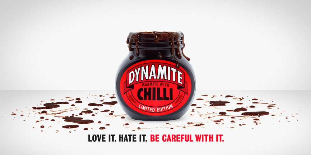 James Day: Dynamite, Marmite's New Chilli Spread - Photographer James Day was commissioned by Adam & Eve/DDB to shoot the latest campaign for Marmite's new chilli spread called…